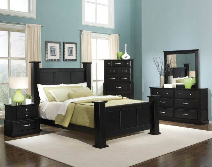 how to use black bedroom furniture in