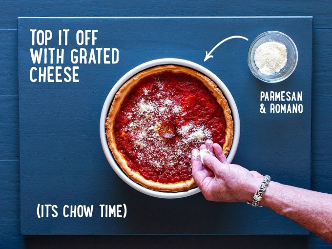 Giordano's Famous Stuffed Deep Dish Pizza copycat recipe by Todd Wilbur