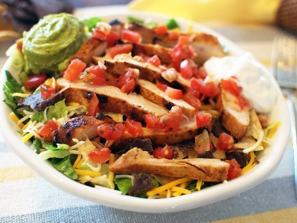 Top Secret Recipes  Applebees Santa Fe Chicken Salad