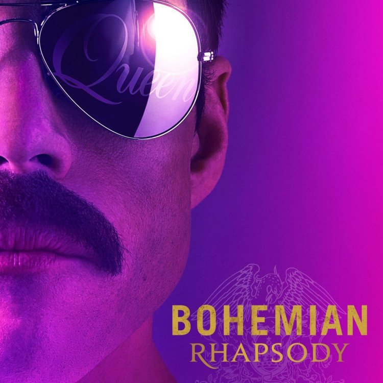 Bohemian Rhapsody Movie Poster for Queen Film