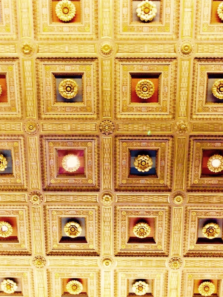 Ceiling detail U.S. Supreme Court (c) Diana Belchase