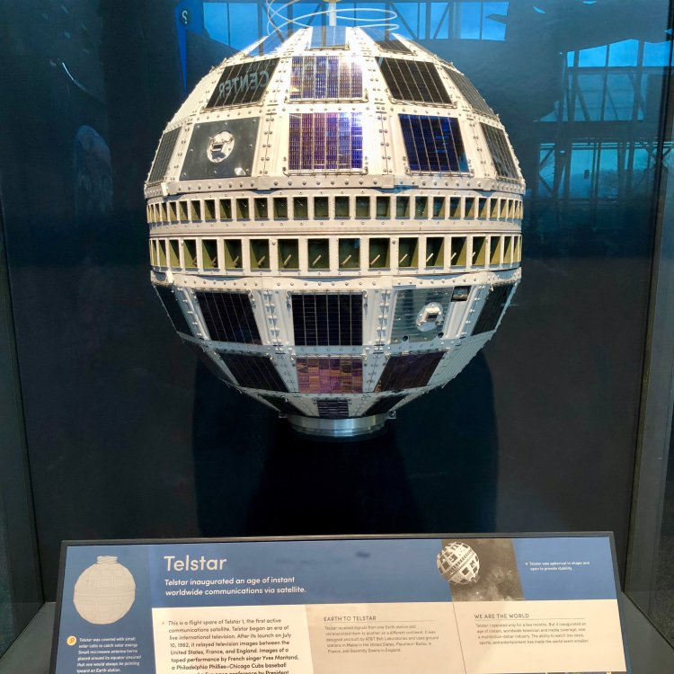 Telstar, the size of a beach ball photo