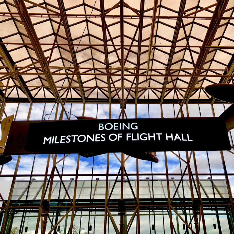 Boeing Milestones of Flight Hall Smithsonian Air and Space Museum
