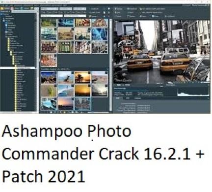 Ashampoo Photo Commander Crack 16.2.1 + Patch 2021