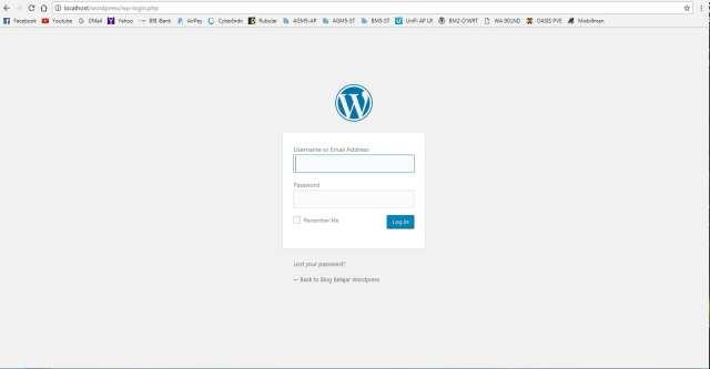 Tutorial Install WordPress pada XAMPP Windows7 - Step7-min