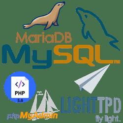Cara Install Lighttpd, PHP-5.6, MariaDB, PHPMyAdmin