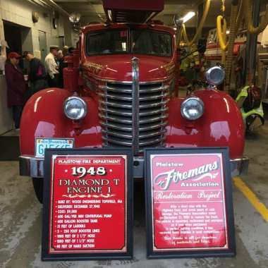 Topsfield Fire Department Honors Former Deputy Chief at Topsfield Fair's Opening Day