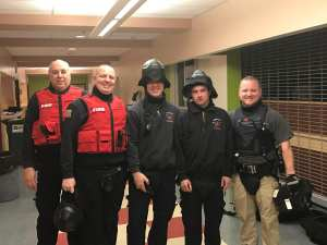 TFD Participates in Muli-Agency Drill for School Safety