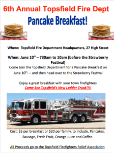 TFD Hosts Annual Pancake Breakfast