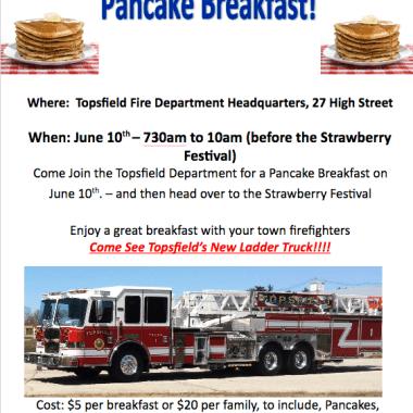 TFD Hosts Annual Pancake Breakfast