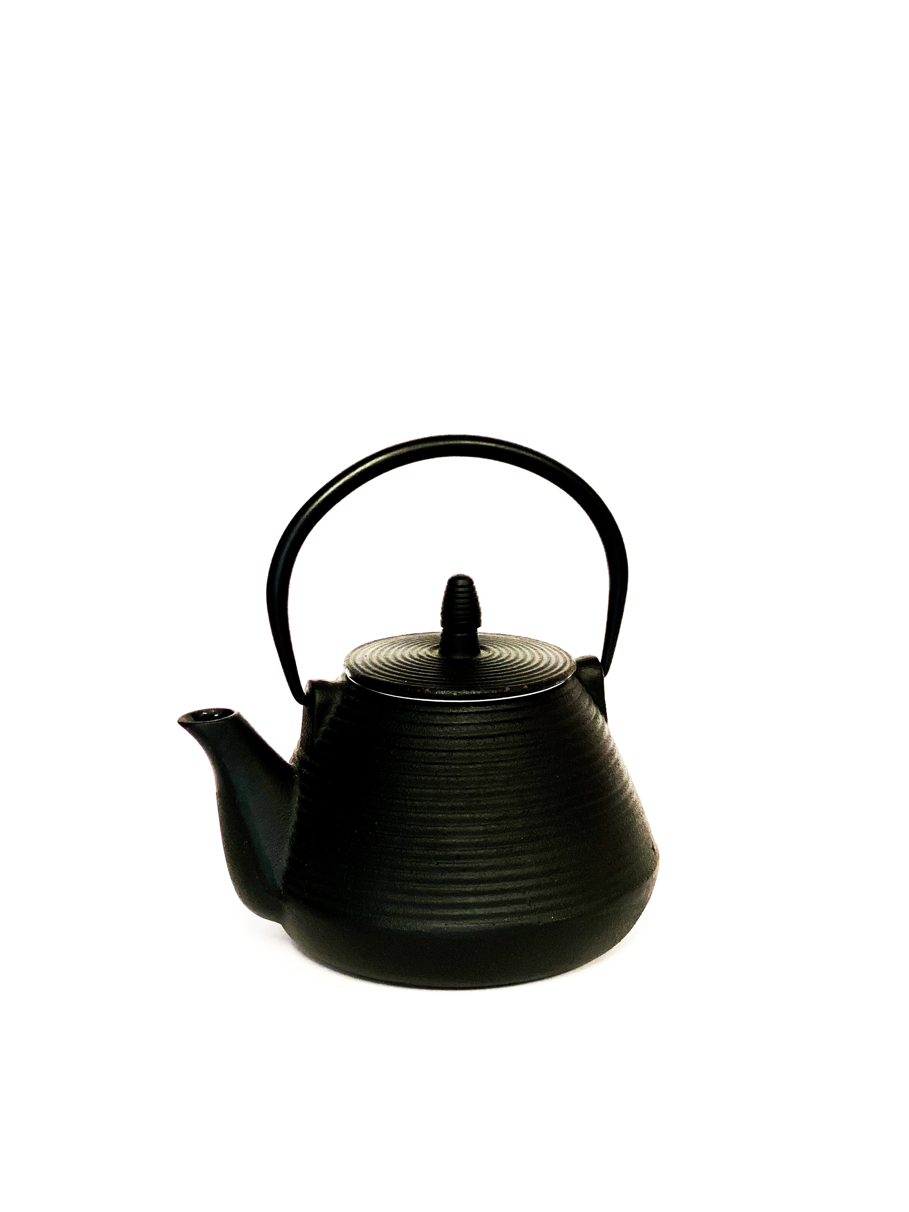 Black teapot japanese style Cast Iron