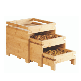Rosseto Natura™ Nesting Boxes Set of 3pcs