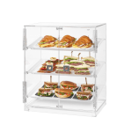 Bakery Cabinet Acrylic Double Serving Mode Without Base