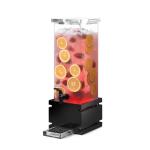 Rosseto Black Gloss Square Beverage Dispenser