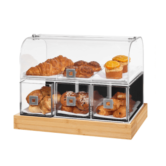 Acrylic Bakery Display Case – Rosseto Dome Drawer