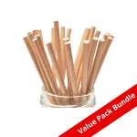 Paper Straw Kraft VALUE PACK BUNDLE