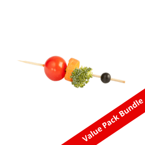 Bamboo Round Bead Pick VALUE PACK BUNDLE