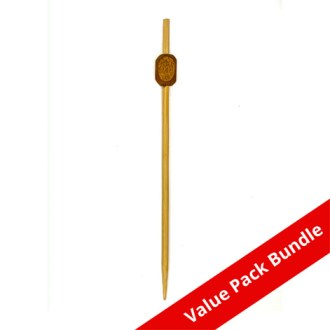 Bamboo Square Bead Pick VALUE PACK BUNDLE