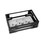Warmer Short Burner Stand black