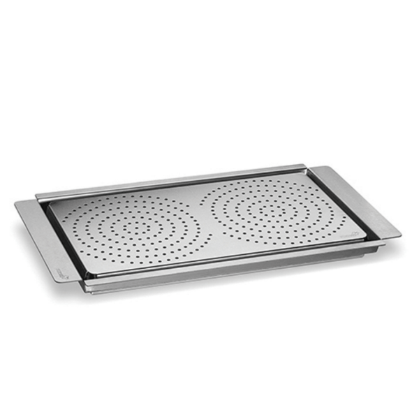 Griddle With Flatbread Warming Tray