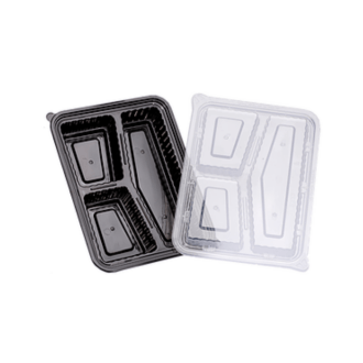 takeaway container plastic with compartments