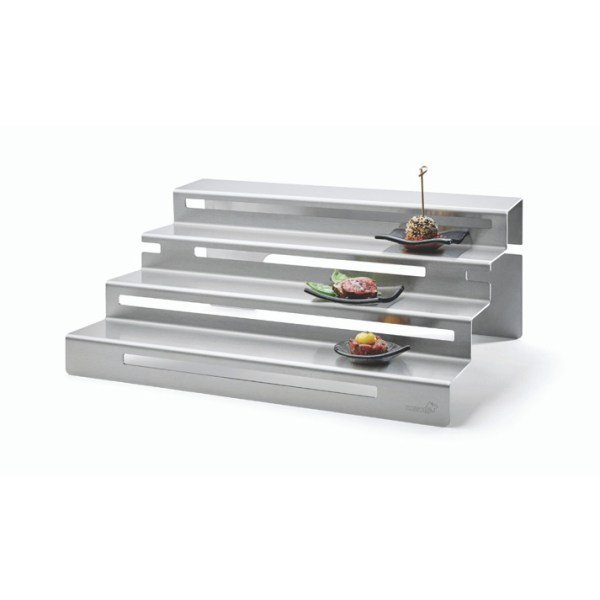 Stainless Steel Stair Buffet Steps