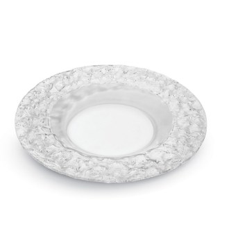 Round Platter Clear Acrylic
