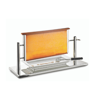 Honeycomb Frame Display Stand