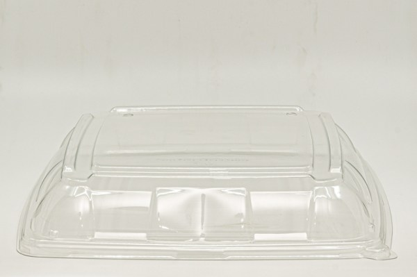 PET Lid for Large Sugar Cane Tray