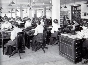 early copywriting crew