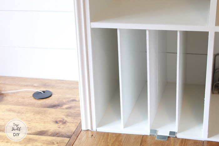 Ikea Kallax Hack Diy Shelf Dividers Top Shelf Diy