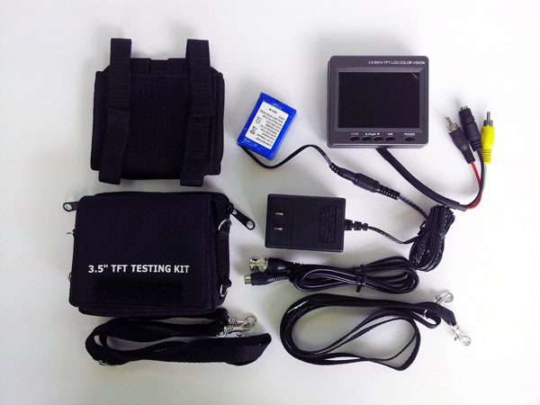3.5 inch test monitor kit