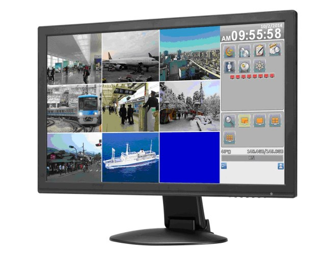 24'' IP Camera Monitor / 4CH