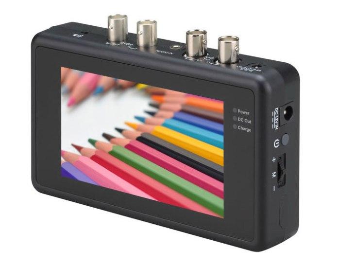 4.3'' hybrid AHD TVI tester monitor