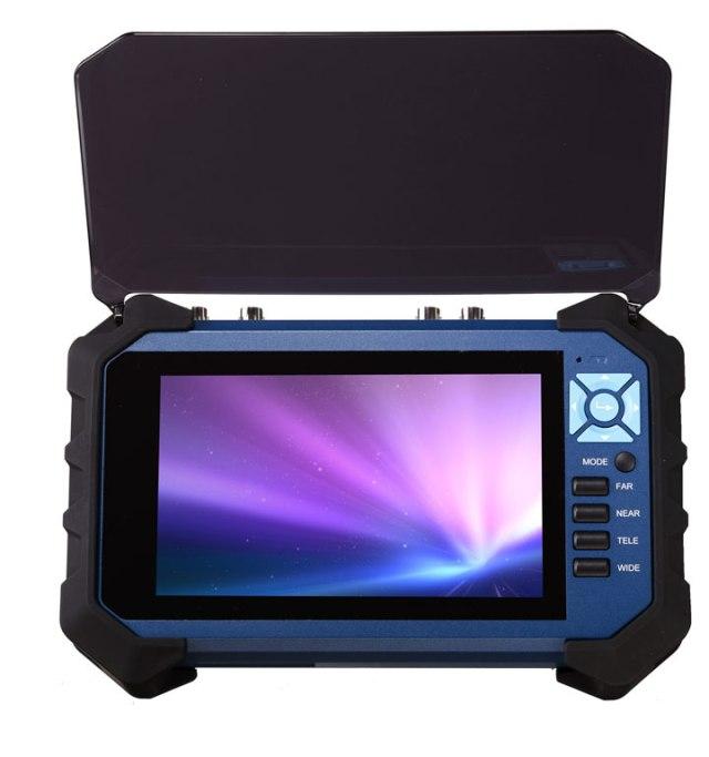 7'' hybrid HD-SDI CCTV Tester Monitor with recorder