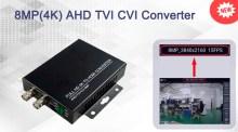 8MP(4K) AHD TVI CVI to HDMI Converter