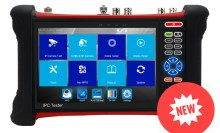 7'' all-in-one IP tester monitor with AHD TVI CVI and Multimeter