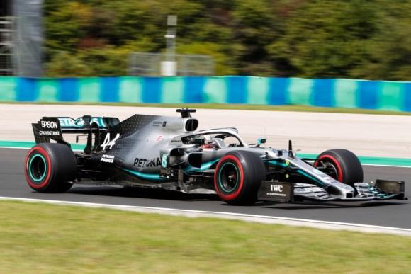 Lewis Hamilton siegt in Ungarn © Daimler AG