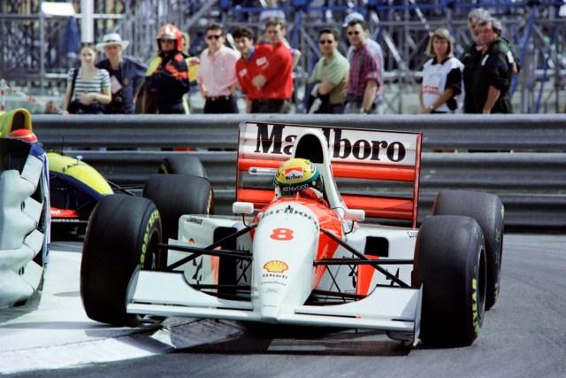 Monaco 93 senna