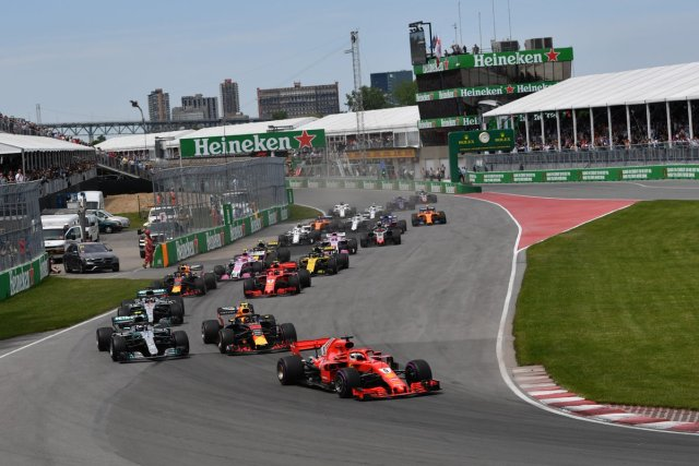 Vettel partenza vincente