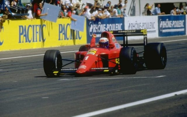 Ultimo FranceGp a Le Castellet 1990 100° successo Ferrari
