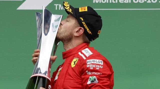 Vettel vince in Canada