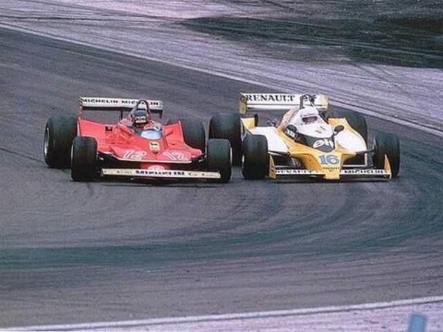 Arnoux contro Villeneuve: il duello di Digione