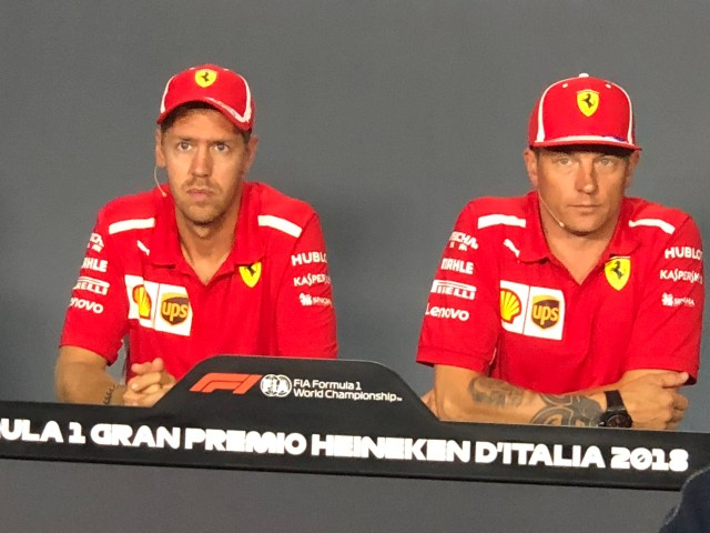ItaliaGp Seb & Kimi