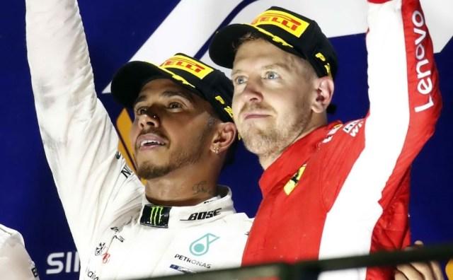 Hamilton&Vettel