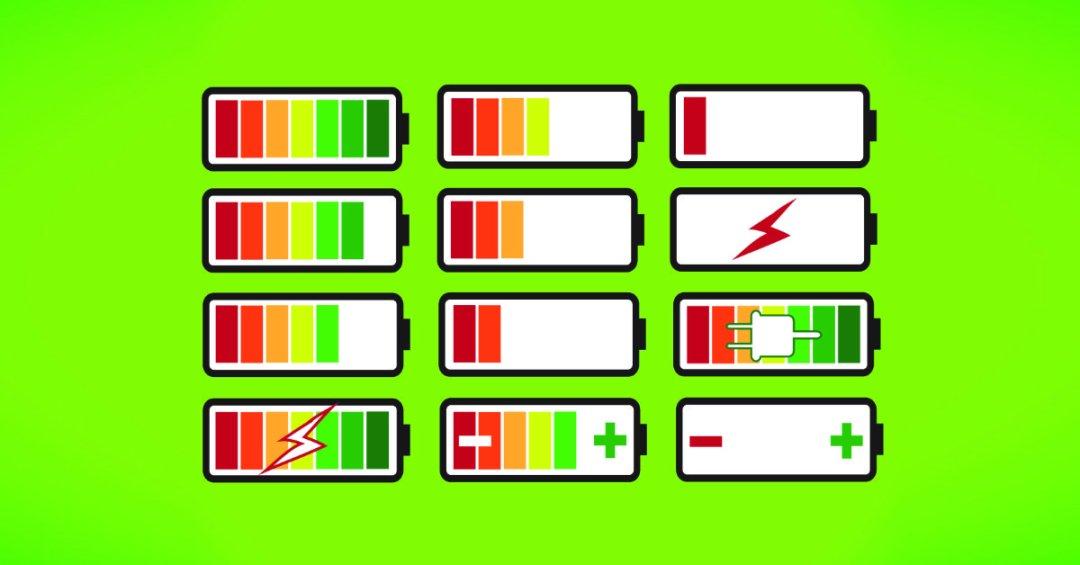 Accu levels welk energie-type