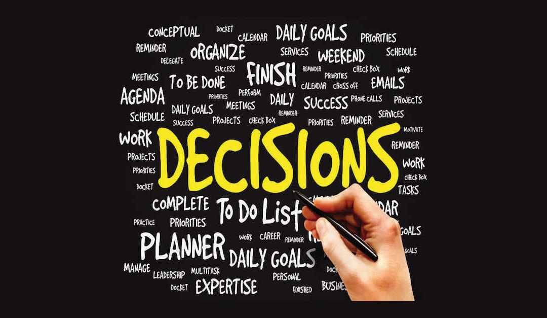 Waarom je in drukke periodes moeilijker beslissingen kunt nemen