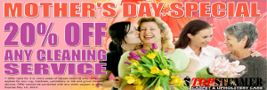 Mother's Day Carpet Cleaning Special