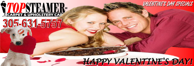 Valentine's Day Carpet Cleaning Specials