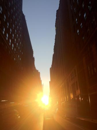 Manhattanhenge 2012 2nd shot
